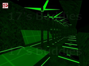 deathrun_green_x (Counter-Strike)